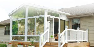 glass enclosed porch