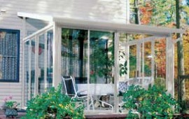 sunroom on house